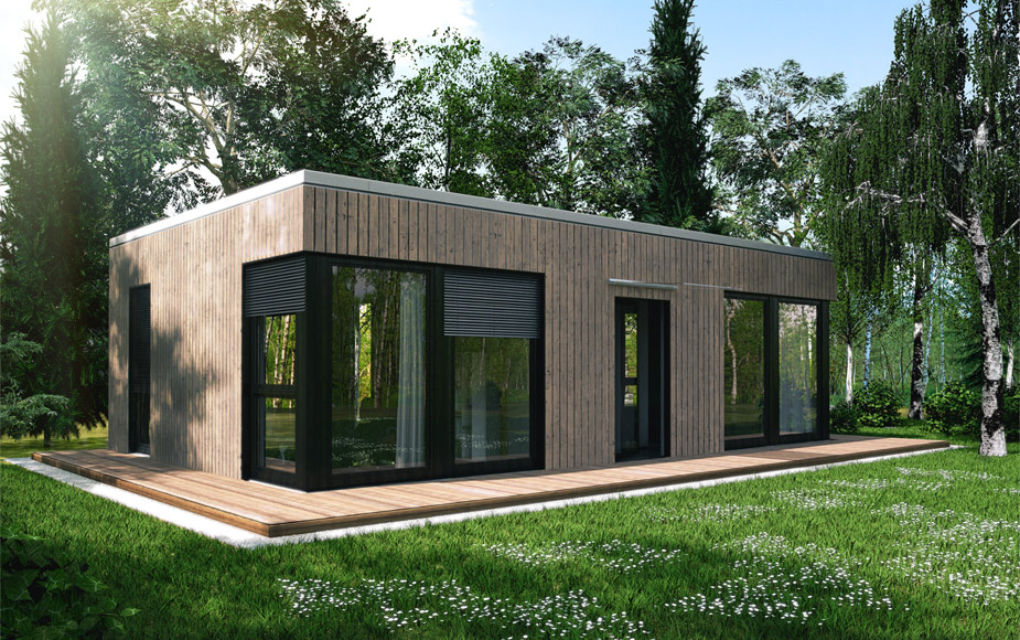 Singlehaus typ l40 for Moderne wohncontainer